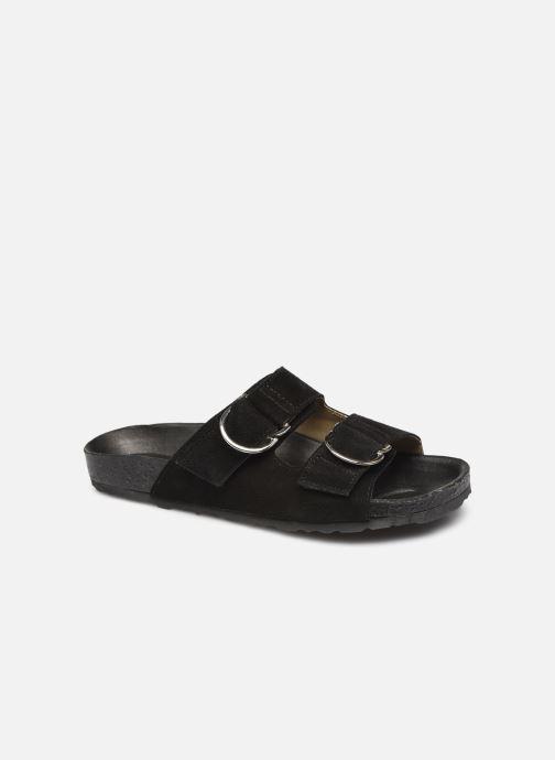 Clogs & Pantoletten Bianco BIABETRICIA Leather Sandal schwarz detaillierte ansicht/modell