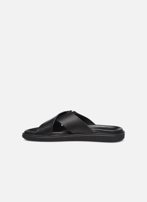Clogs & Pantoletten Bianco BIADEBBIE Leather Cross Sandal schwarz ansicht von vorne