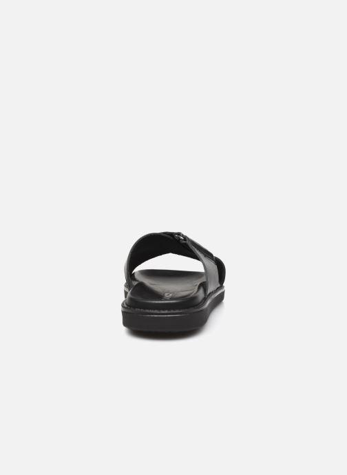 Clogs & Pantoletten Bianco BIADEBBIE Leather Cross Sandal schwarz ansicht von rechts