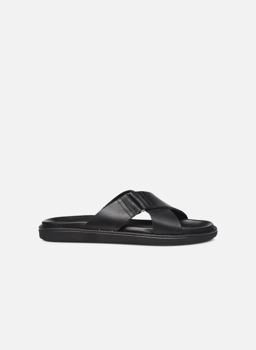 Clogs & Pantoletten Bianco BIADEBBIE Leather Cross Sandal schwarz ansicht von hinten