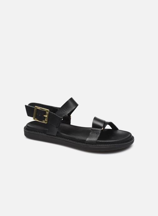 Sandalen Bianco BIADEBBIE Leather Strap Sandal schwarz detaillierte ansicht/modell