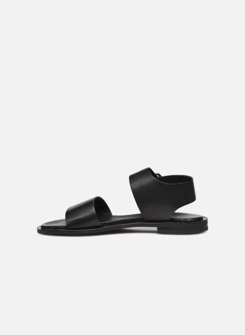 Sandalen Bianco BIADARLA Leather Sandal Zwart voorkant