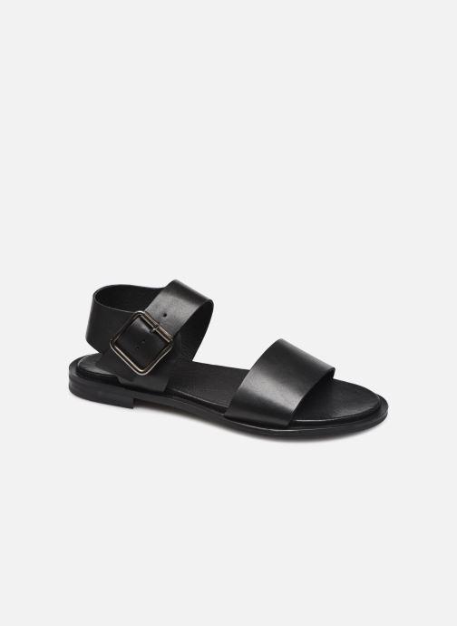 Sandalen Bianco BIADARLA Leather Sandal Zwart detail