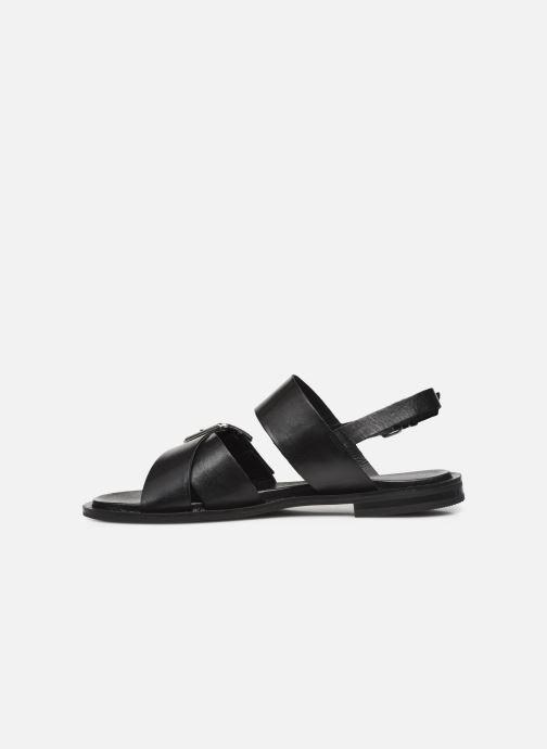 Sandalen Bianco BIADARLA Cross Sandal Zwart voorkant