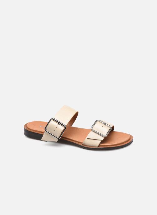 Wedges Bianco BIADARLA Buckle Sandal Beige detail