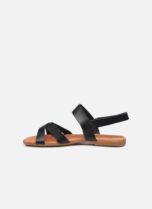 Sandalen Bianco BIABROOKE Cross Sandal Zwart voorkant