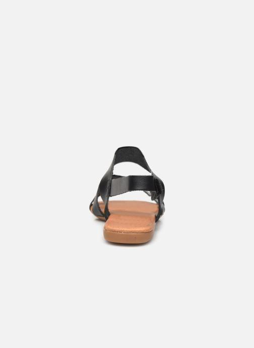 Sandalen Bianco BIABROOKE Cross Sandal Zwart rechts