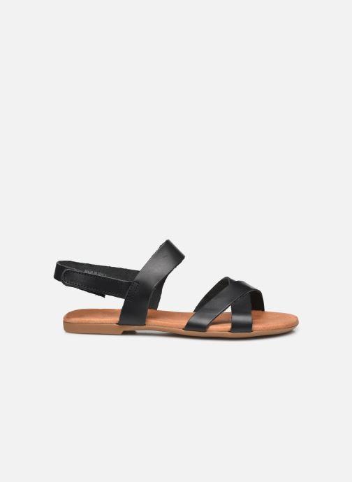 Sandalen Bianco BIABROOKE Cross Sandal Zwart achterkant
