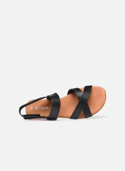 Sandalen Bianco BIABROOKE Cross Sandal Zwart links