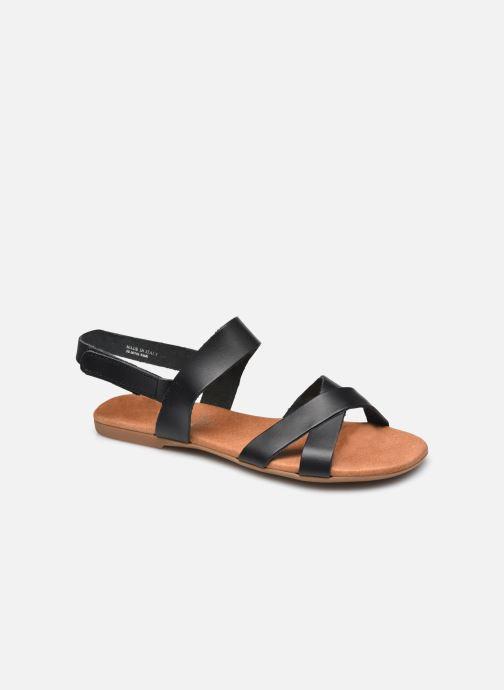 Sandalen Bianco BIABROOKE Cross Sandal Zwart detail