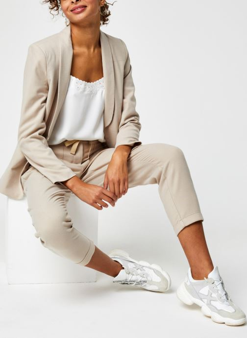 Vêtements Grace & Mila Barthelemy Blanc vue bas / vue portée sac