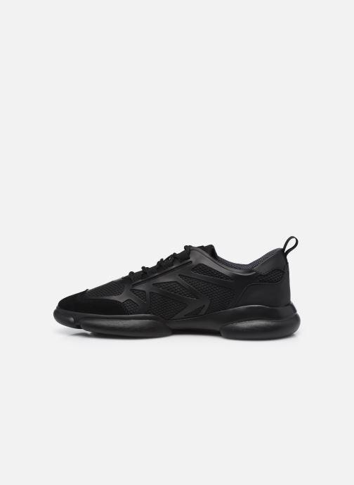 Sneaker BOSS Rapid_Runn_merb schwarz ansicht von vorne