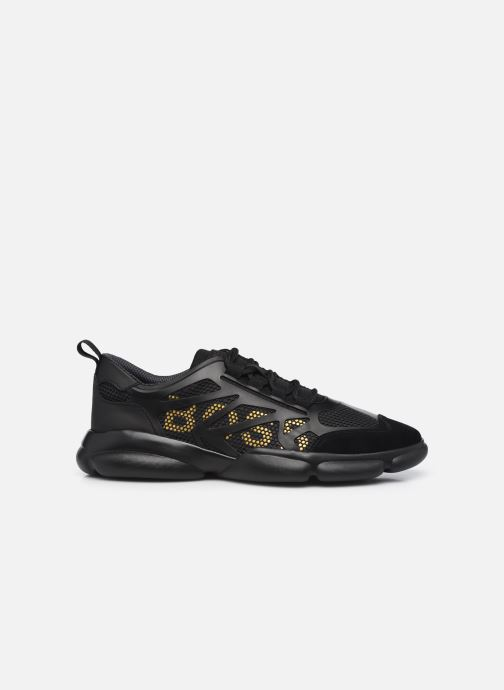 Sneaker BOSS Rapid_Runn_merb schwarz ansicht von hinten