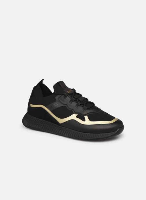 Sneaker BOSS Titanium_Runn_knth schwarz detaillierte ansicht/modell