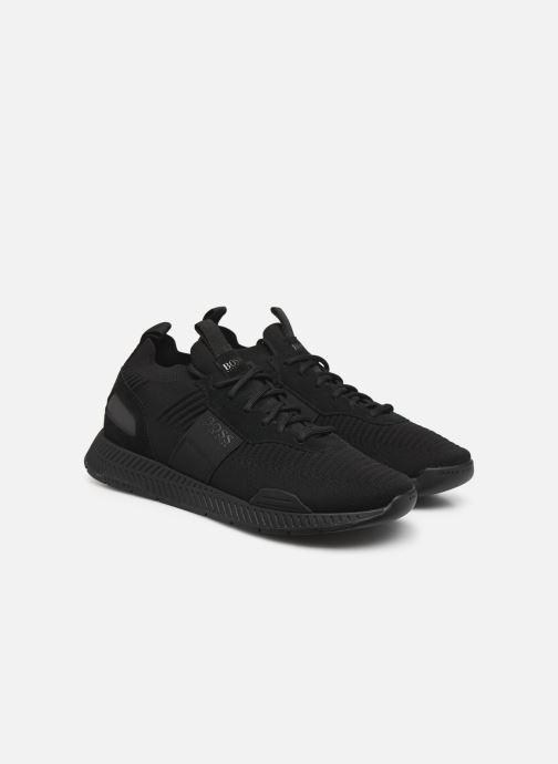 Sneaker BOSS Titanium_Runn_knst1 schwarz 3 von 4 ansichten