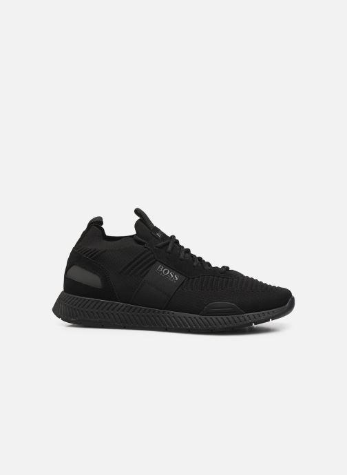 Sneaker BOSS Titanium_Runn_knst1 schwarz ansicht von hinten