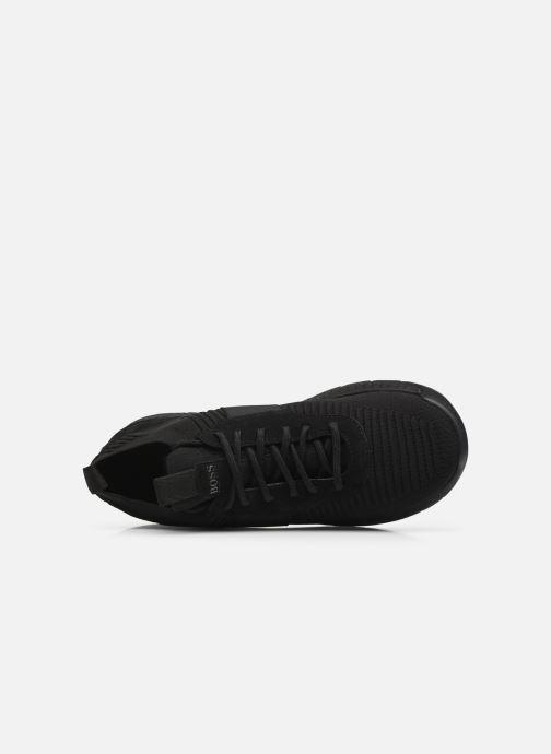 Sneaker BOSS Titanium_Runn_knst1 schwarz ansicht von links