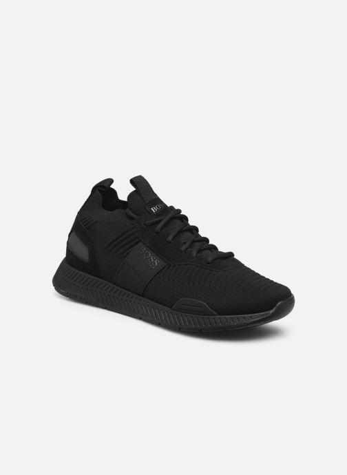 Sneaker BOSS Titanium_Runn_knst1 schwarz detaillierte ansicht/modell