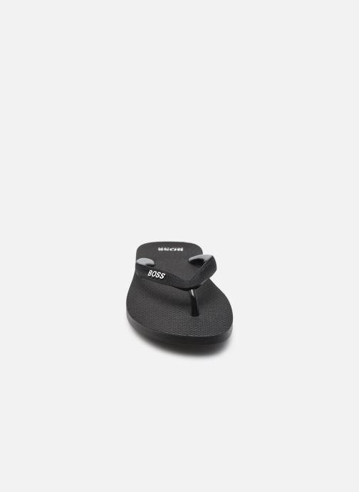 Zehensandalen BOSS Pacific_Thng_digital schwarz schuhe getragen