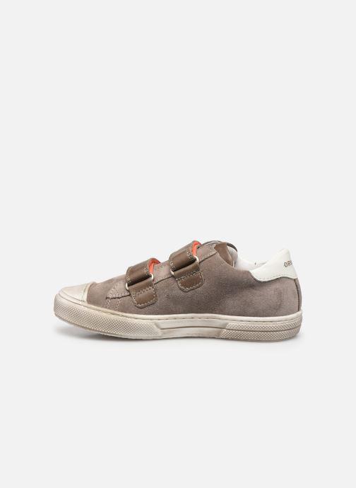 Sneaker Stones and Bones Marro 4347 grau ansicht von vorne