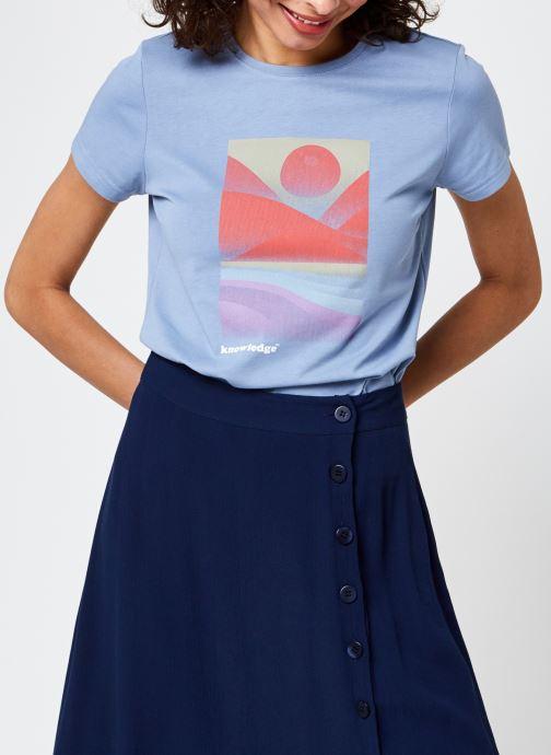 Ropa Knowledge Cotton Apparel Rosa Azul vista de detalle / par