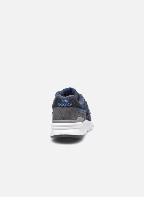 Sneakers New Balance PZ997 M Blå Se fra højre