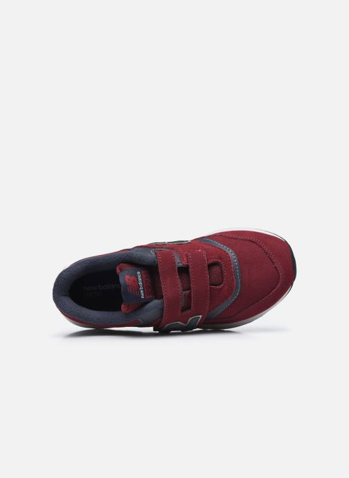 Baskets New Balance PZ997 M Rouge vue gauche