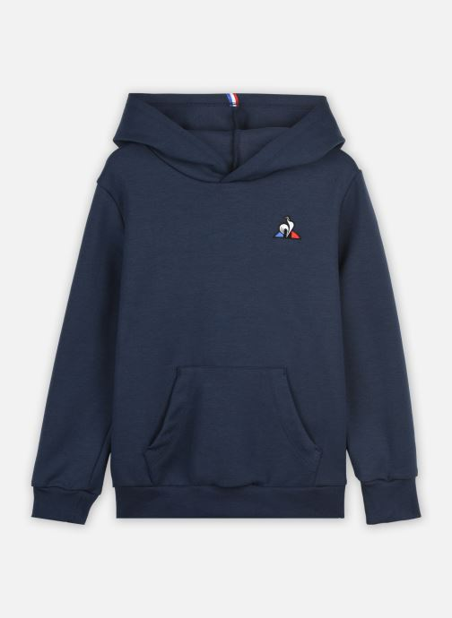 Kleding Le Coq Sportif ESS Hoody N°1 Enfant Blauw detail