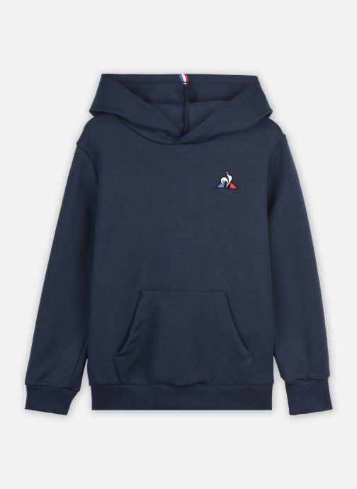 Vêtements Le Coq Sportif ESS Hoody N°1 Enfant Bleu vue détail/paire