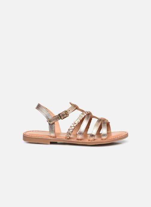 Sandales et nu-pieds Les Tropéziennes par M Belarbi Monga Or et bronze vue derrière