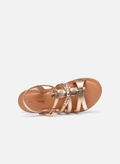 Sandales et nu-pieds Les Tropéziennes par M Belarbi Monga Or et bronze vue gauche