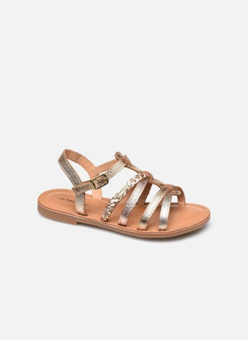 Sandales et nu-pieds Les Tropéziennes par M Belarbi Monga Or et bronze vue détail/paire
