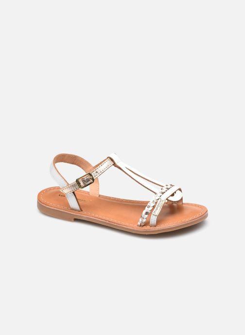 Sandales et nu-pieds Les Tropéziennes par M Belarbi Badou Blanc vue détail/paire