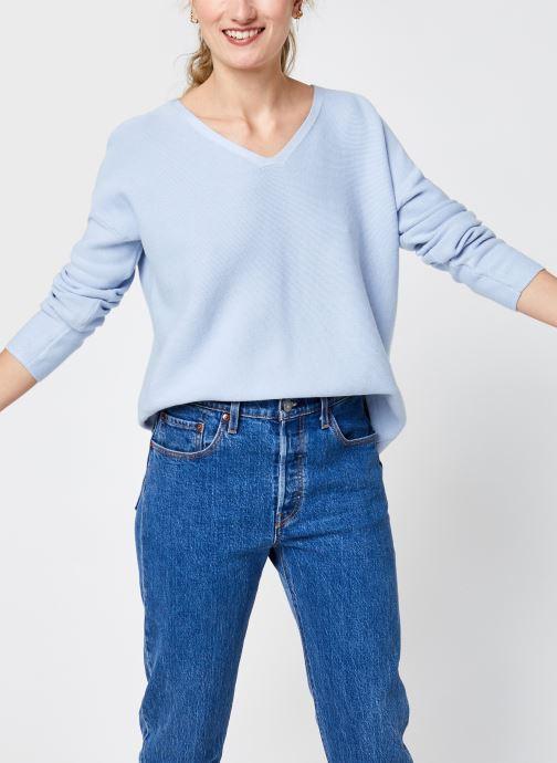 Vêtements Accessoires Org Co Textured V-Nk Swt
