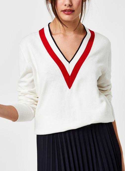 Vêtements Accessoires Global Stripe V-Nk Swt Ls