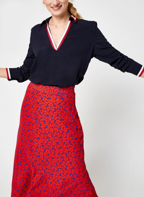 Vêtements Accessoires Viscose Her Popover Blouse Ls