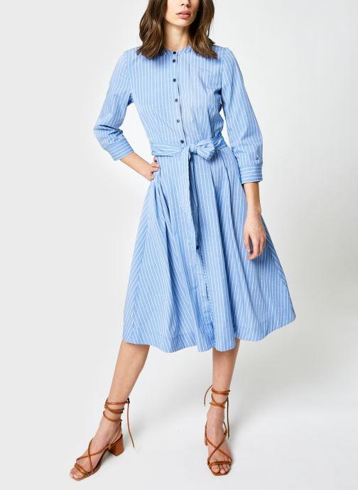 Vêtements Accessoires Y/D Cot Shirt Midi Dress 7/8 Slv