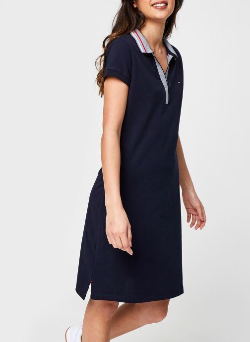 Vêtements Accessoires Tipping Slim Polo Short Dress Ss