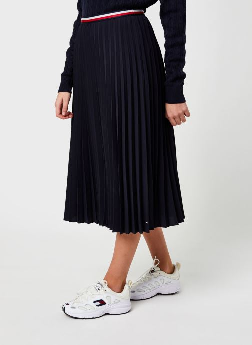 Jupe midi - Crepe Pleated Gbl Midi Skirt
