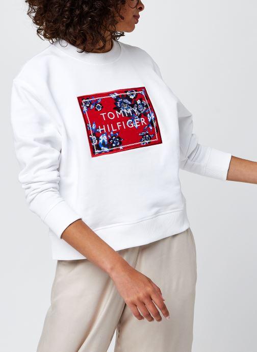 Vêtements Accessoires Relaxed Floral C-Nk Sweatshirt