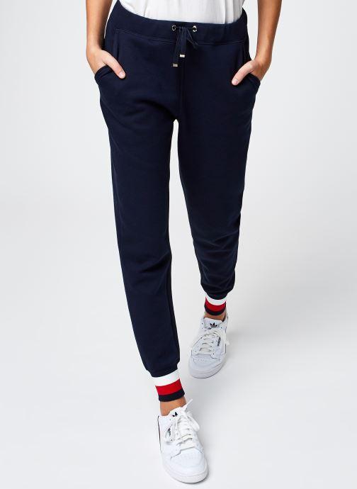 Vêtements Tommy Hilfiger Heritage Sweatpants Bleu vue détail/paire