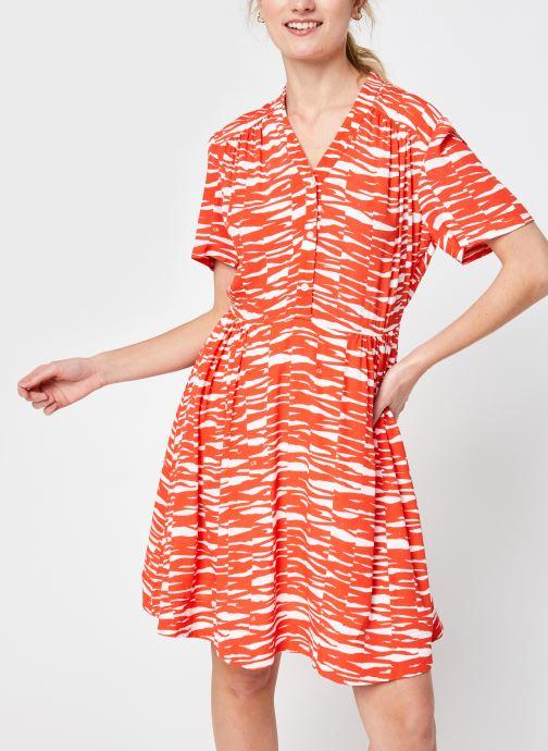 Kleding Accessoires Short Slv V-Nk Short Dress