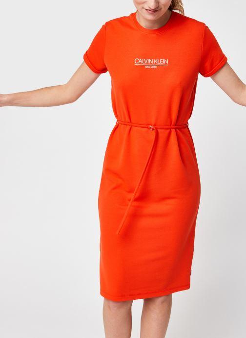 Kleding Accessoires Ss Logo T-Shirt Dress