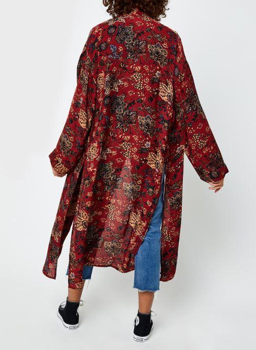 Vêtements Free People Play It Cool Kimono Multicolore vue portées chaussures