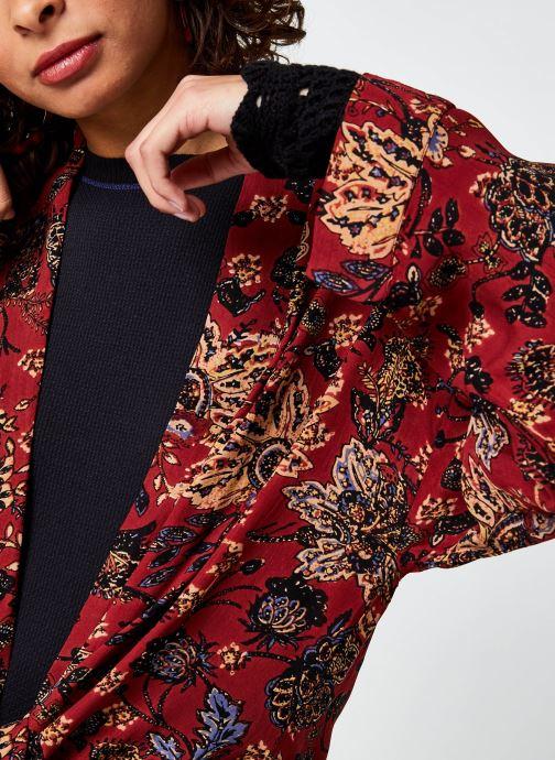 Vêtements Free People Play It Cool Kimono Multicolore vue face