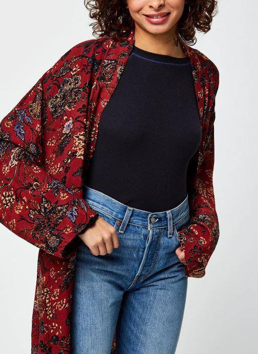 Vêtements Free People Play It Cool Kimono Multicolore vue droite