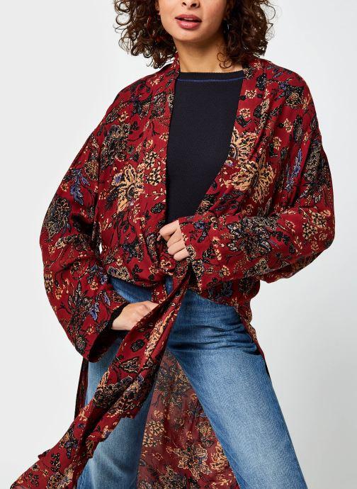 Vêtements Free People Play It Cool Kimono Multicolore vue détail/paire