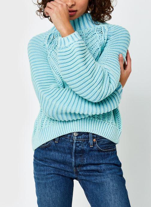Vêtements Free People Sweetheart Sweater Bleu vue droite