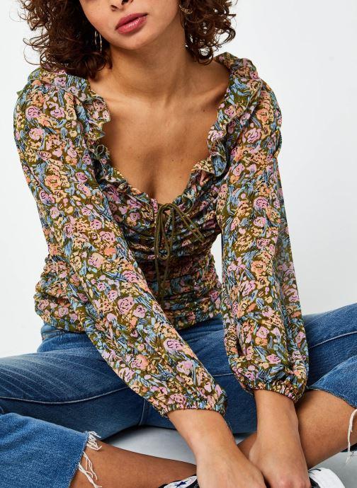 Vêtements Free People Mabel Printed Blouse Multicolore vue détail/paire