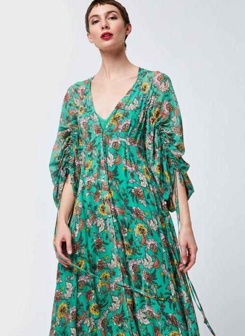 Vêtements Free People Earthfolk Maxi Vert vue détail/paire